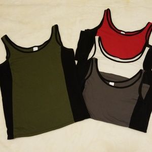 Exercise Active Tank Tops Size L